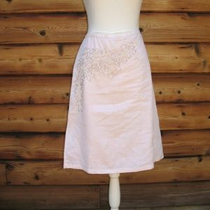 French Connection Pink Skirt